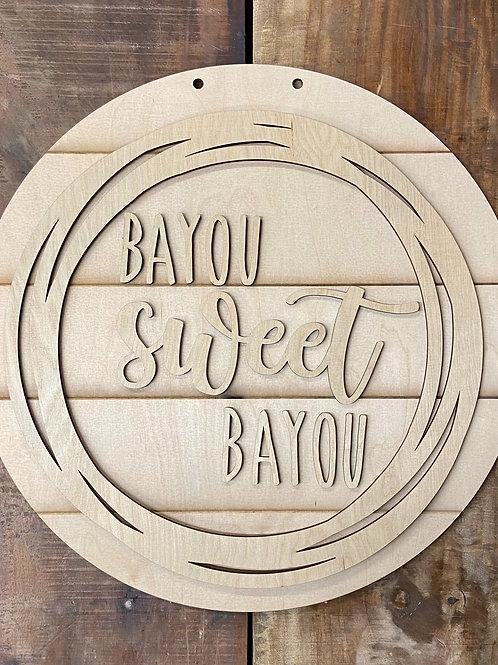Bayou sweet bayou