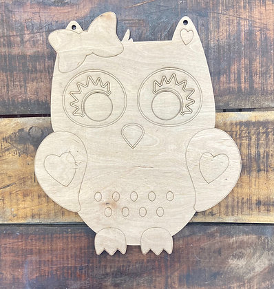 Owl kid design