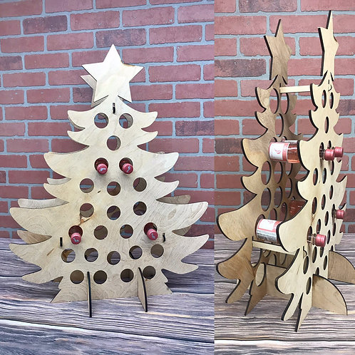 Advent Tree Wooden
