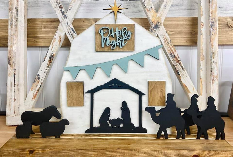 Stand Up Holy Night Barn