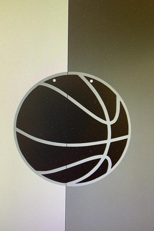Basketball with name or team name