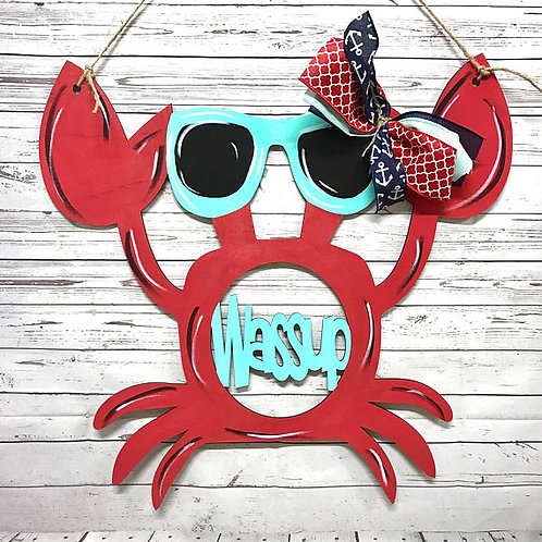 Crab Door Hanger