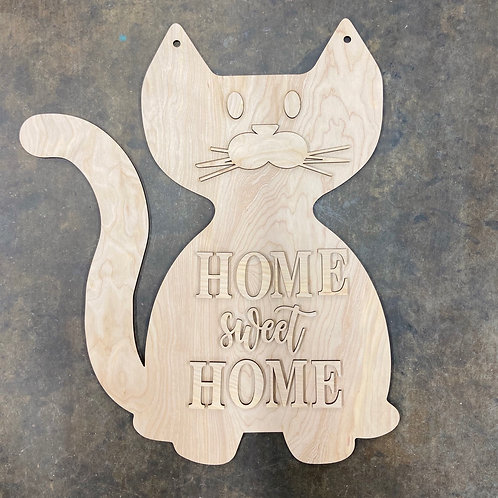 Cat doorhanger design diy