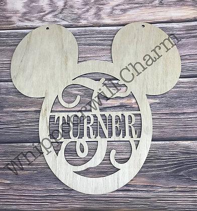 Mickey Mouse Themed Door Hanger
