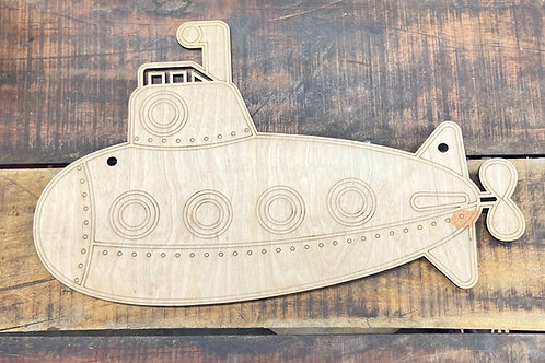 Submarine kid design