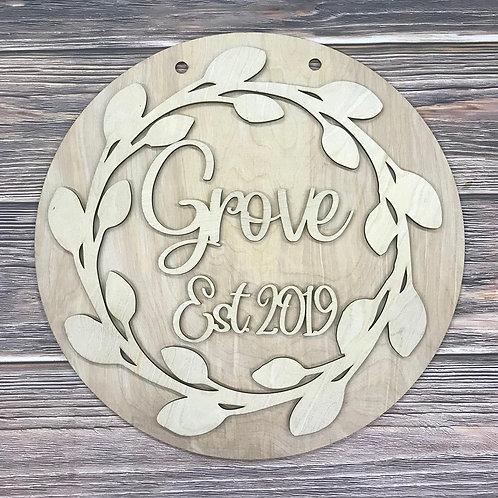 Round Vine Family Name