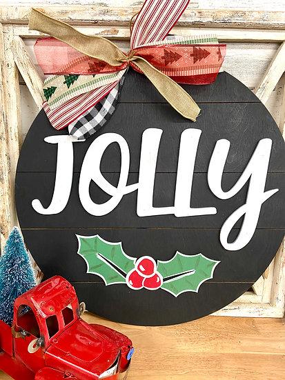 Jolly Door hanger
