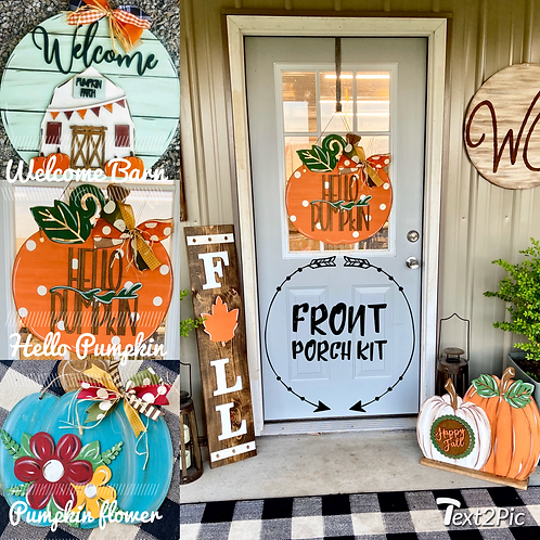 Front porch kit (PAINTED!  FREE SHIPPING!)