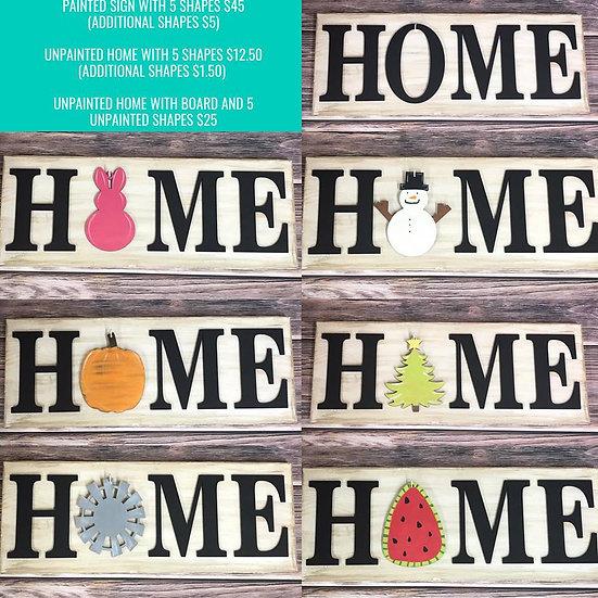 Home Board Design