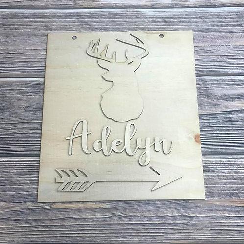 Wholesale Name Deer Arrow Design