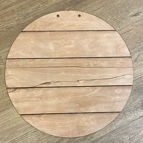 Circle solid (pallet style)