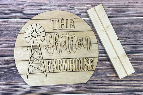 Wholesale stand up farmhouse sign