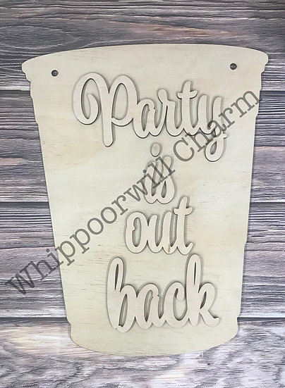 Party Out Back Design
