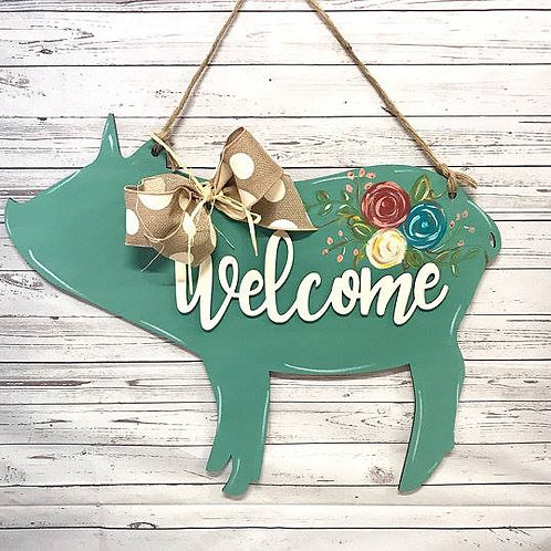 Welcome Pig