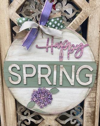 Happy spring hydrangea (unpainted)