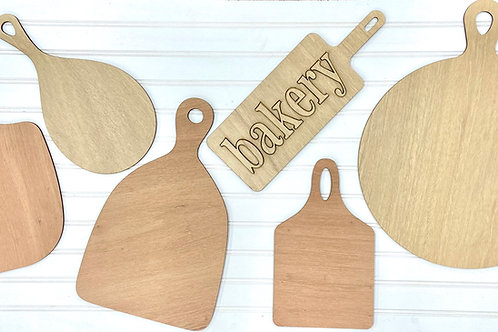 Decorative cutting board collection