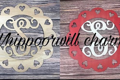 Wholesale Valentines Monogram