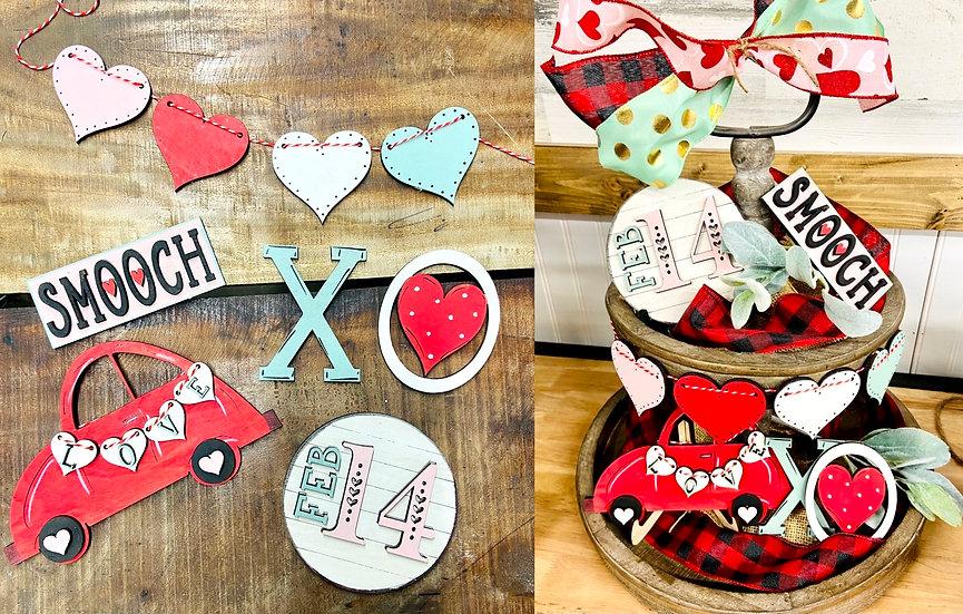 Valentine Tier Tray Set