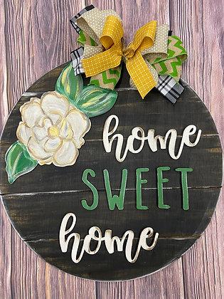 Home Sweet Home Magnolia Door hanger
