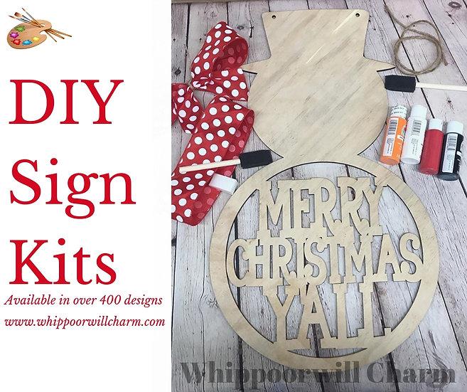 DIY Sign Kit