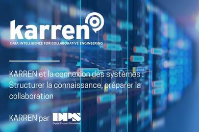 KARREN : Connexion des systèmes : Structurer la connaissance, préparer la collaboration