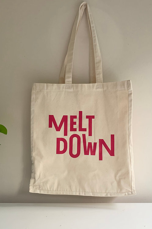 Meltdown by Day Winedown by Night Tote Bag