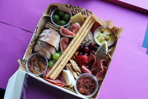 Cheese & Charcuterie Grazing Box