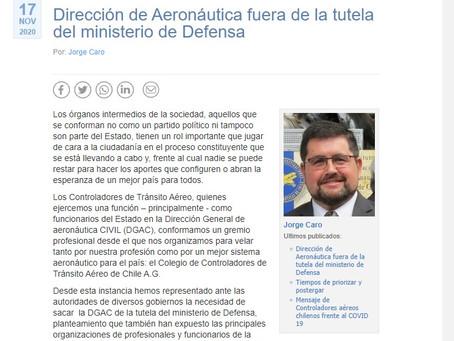 Dirección de Aeronáutica fuera de la tutela del ministerio de Defensa