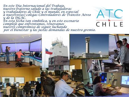 Saludo del Colegio ATC en Día del Trabajo