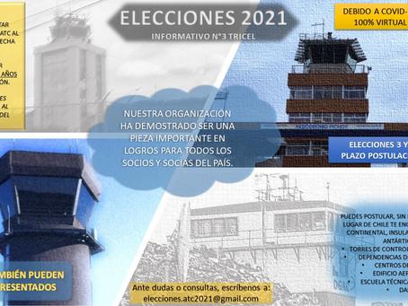 Elecciones 3 y 4 de junio: Postula antes del 19 de abril  a los cargos de presidente o director
