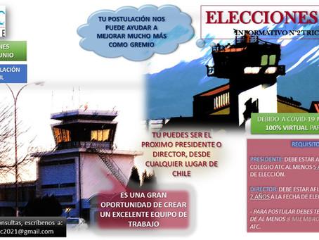 Tú puedes ser el próximo presidente o director del Colegio ATC Chile