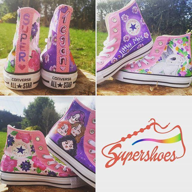 Pretty Purple & Pink Shoes!