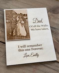 Engraved Photo- plaque