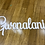 Thumbnail: 450mm height laser cut out name-  colour