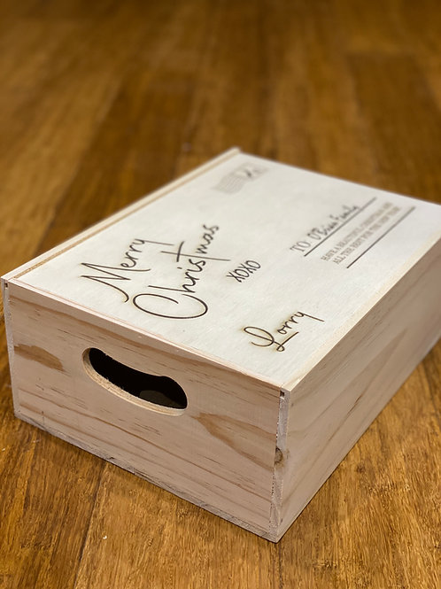 Wooden Gift Boxes with Sliding Lid