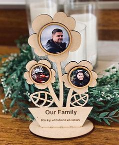 Flower Pot- laser cut frame