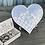 Thumbnail: Heart shape - Guest Book Frame -  wood and acrylic