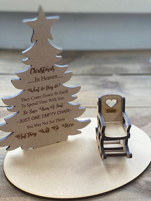 Christmas Tree- In heaven