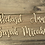 Thumbnail: Wooden Place Names - 4 fonts available MIN ORDER 10 names/words
