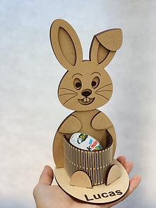 Easter Bunny Egg/Pencil Holder