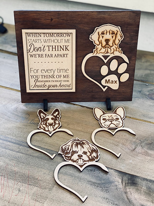 Pet In  Heaven Plaque