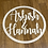 Thumbnail: Plain Wood (raw mdf) backdrop  Hoop Sign  45cm  60cm  75cm  90cm