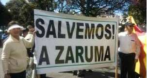 Zarumeños call for remediation and control actions on illegal mining