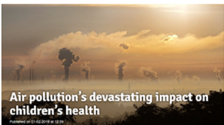 Air pollution's devastating impact on children's health