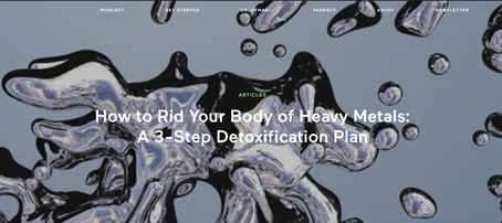 How To Tell If Mercury Toxicity Is The Cause Of Your Mysterious Symptoms