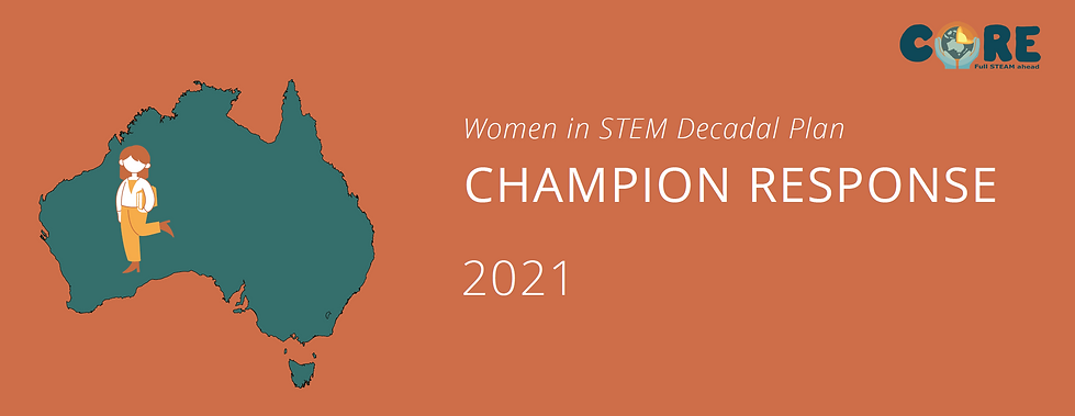 Women in STEM Decadal Plan - Champion Re