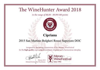 Wine Hunter Award 2018