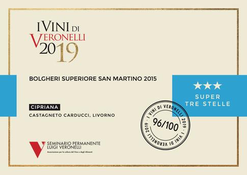 Vini Veronelli 2019 San Martino