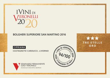 Vini Veronelli 2020 San Martino