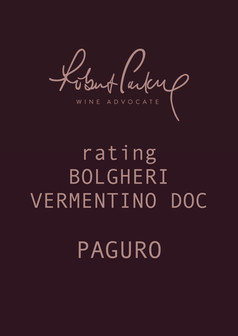 ROBERT PARKER RATING PAGURO